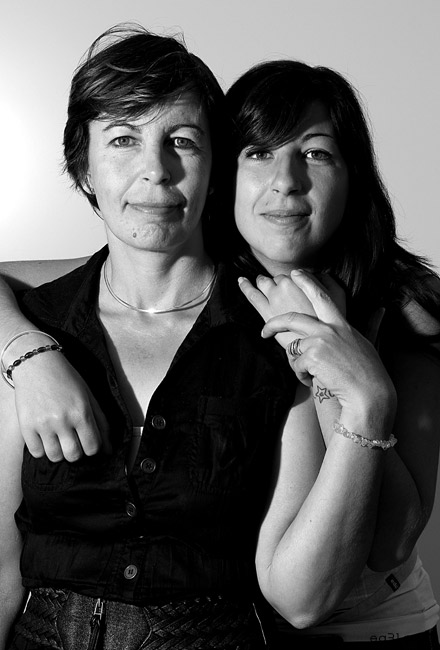 Anne-Marie et Stéphanie